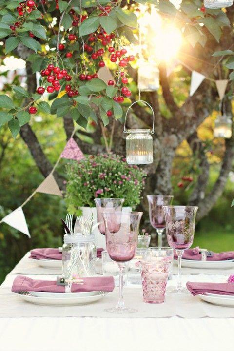 Table setting ideas